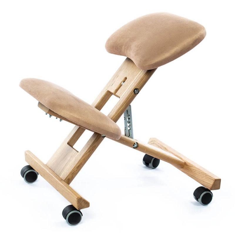 klęcznik unicorn dąb krzesło rehabilitacyjne