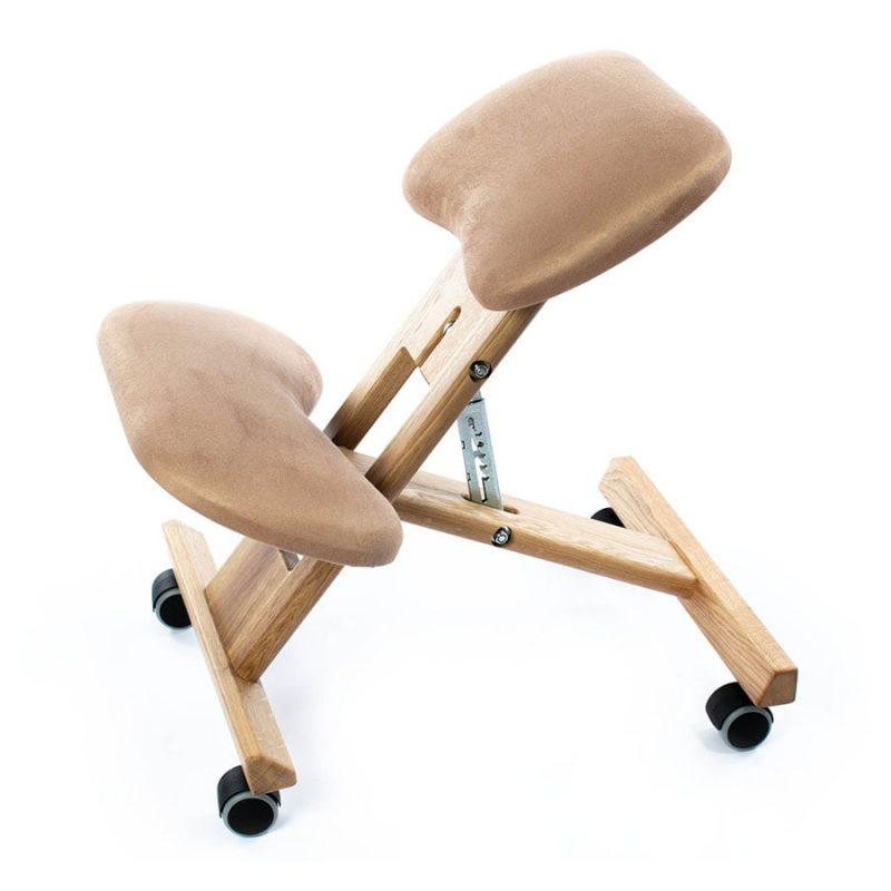 klękosiad unicorn dąb krzesło rehabilitacyjne klęcznik