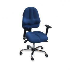 Krzesło Kulik System Classic Pro niebieskie T-21 fotel ergonomiczny