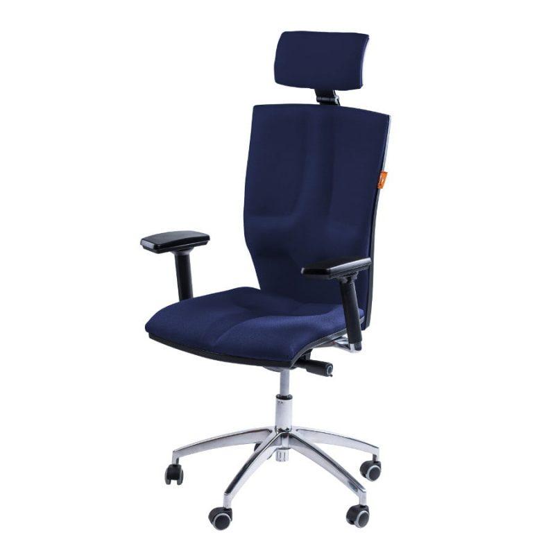 Krzesło Kulik System Elegance Blue T-21 niebieskie