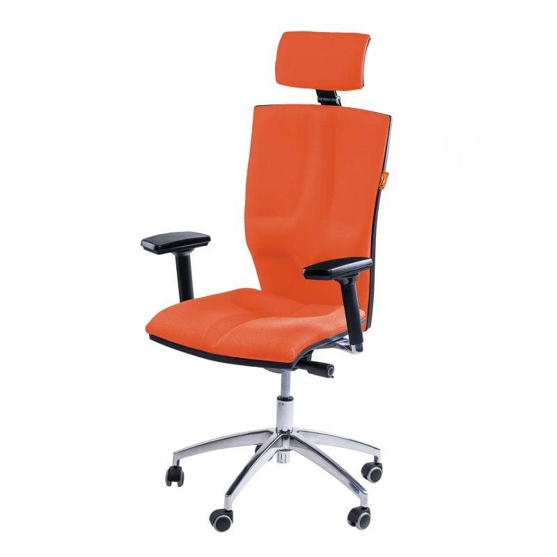 Krzesło rehabilitacyjne Kulik System Elegance Orange T-18 pomarańczowe