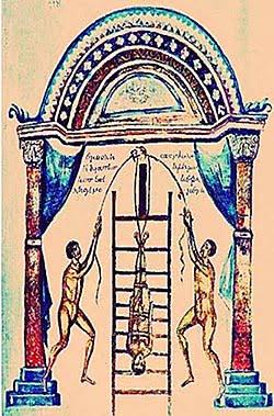 Trakcja kręgosłupa Hippokrates