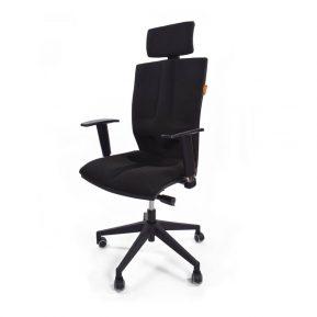 fotel ergonomiczny kulik system elegance belgio czarny