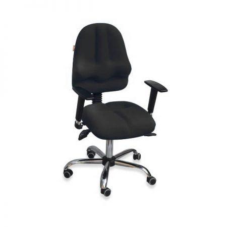 krzesło ergonomiczne kulik system classic pro black-t24-m
