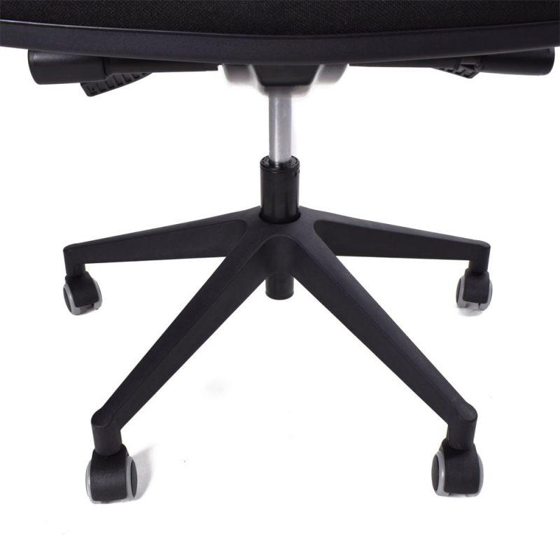 Podstawa Belgio w krześle ergonomicznym Kulik System Elegance Black