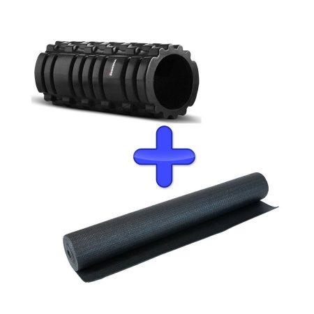 zestaw mata do cwiczen fitnessu jogi roller thorn MTR pro