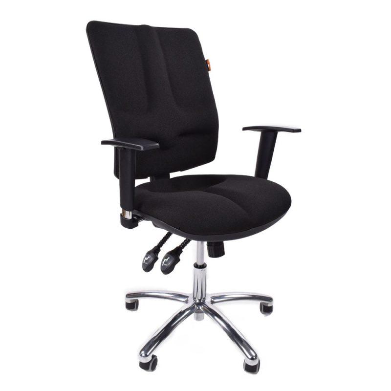 fotel medyczny Kulik System Business Czarne