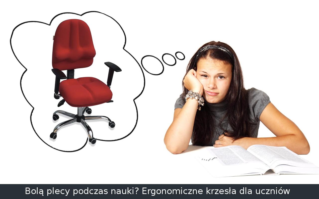 Ergonomiczne krzesło do biurka dla dziecka