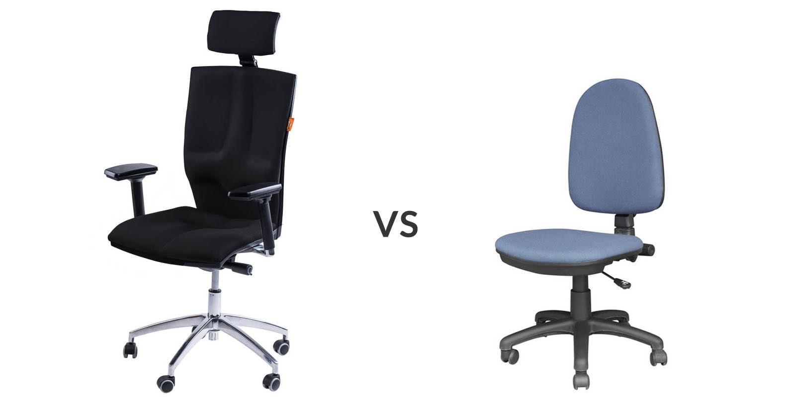 fotel biurowy na chory kręgosłup
