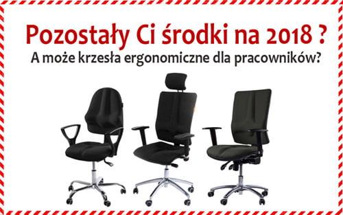 krzesła ergonomiczne do biura