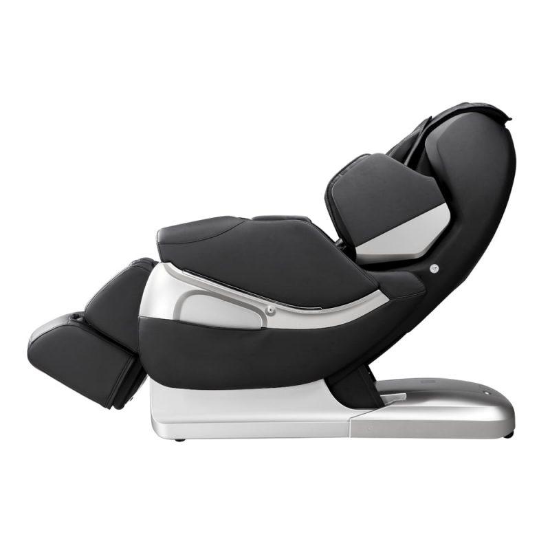 Fotel masujący Rubinetto Czarny (czarno-srebrny)