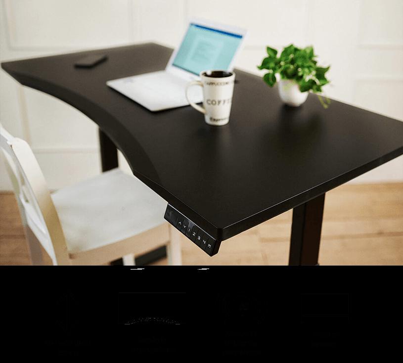 Biurko Fly-Desk z blatem ergonomicznym
