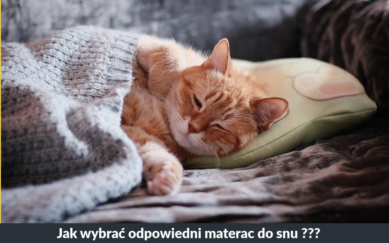Dobry materac do spania - jak wybrać odpowiedni materac do snu
