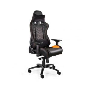 Fotel gamingowy Unique DYNAMIQ V3 Czarny Pomarańczowy