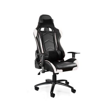 Fotel gamingowy Unique DYNAMIQ V5 Czarny Biały
