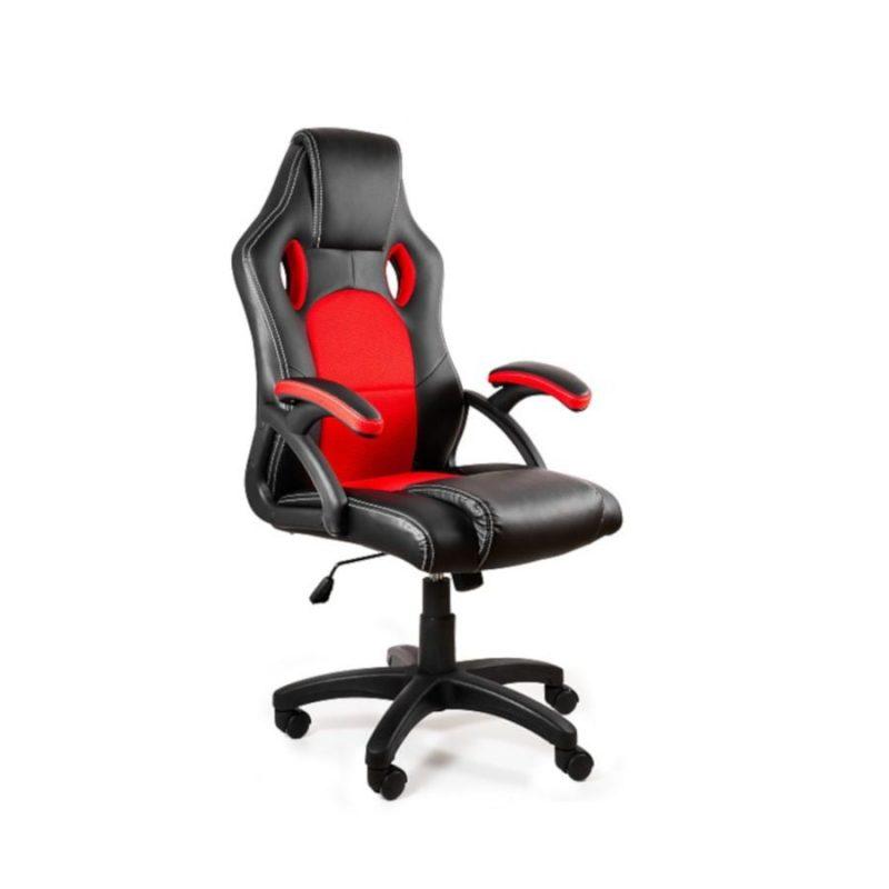 Fotel gamingowy Unique DYNAMIQ V7 Czarny Czerwony