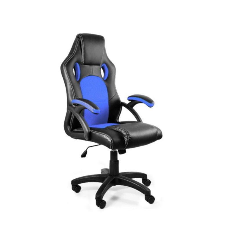 Fotel gamingowy Unique DYNAMIQ V7 Czarny Niebieski