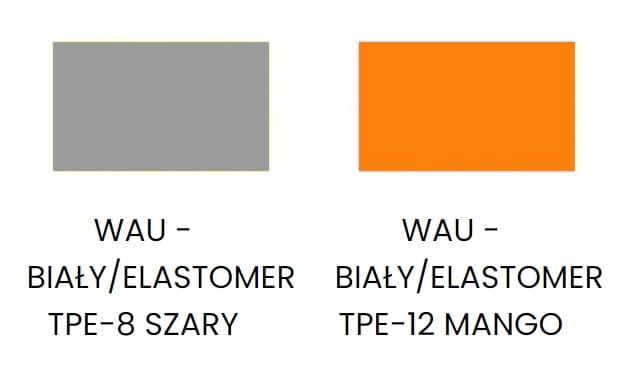 Fotel Ergonomiczny Unique Wau Elastomer dostępne kolory. Paleta barw