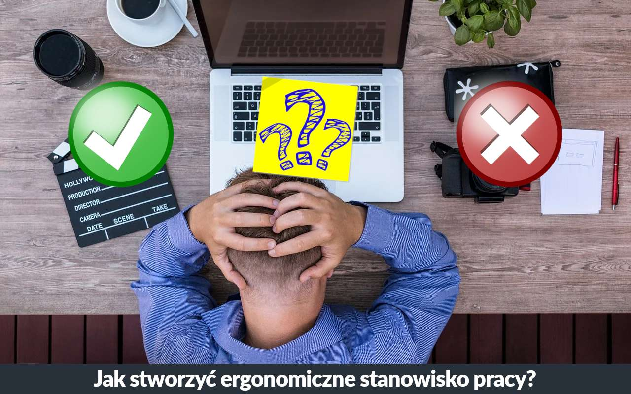 Ergnonomiczne stanowisko pracy biurowej. Jak stworzyć zdrowe stanowisko pracy siedzącej?
