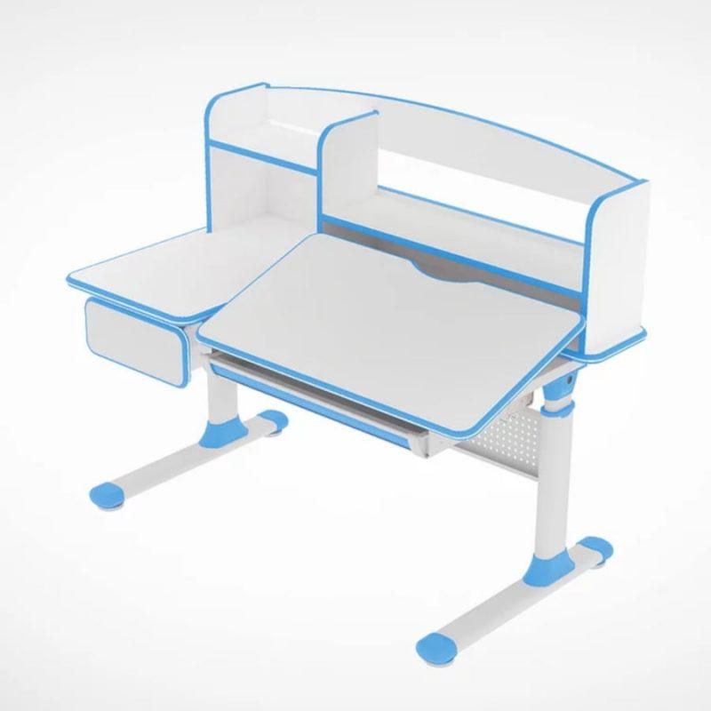 Biurko regulowane dla dziecka Fun Desk Cubby Rimu Blue 1