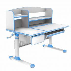 Biurko regulowane dla dziecka Fun Desk Cubby Rimu Blue