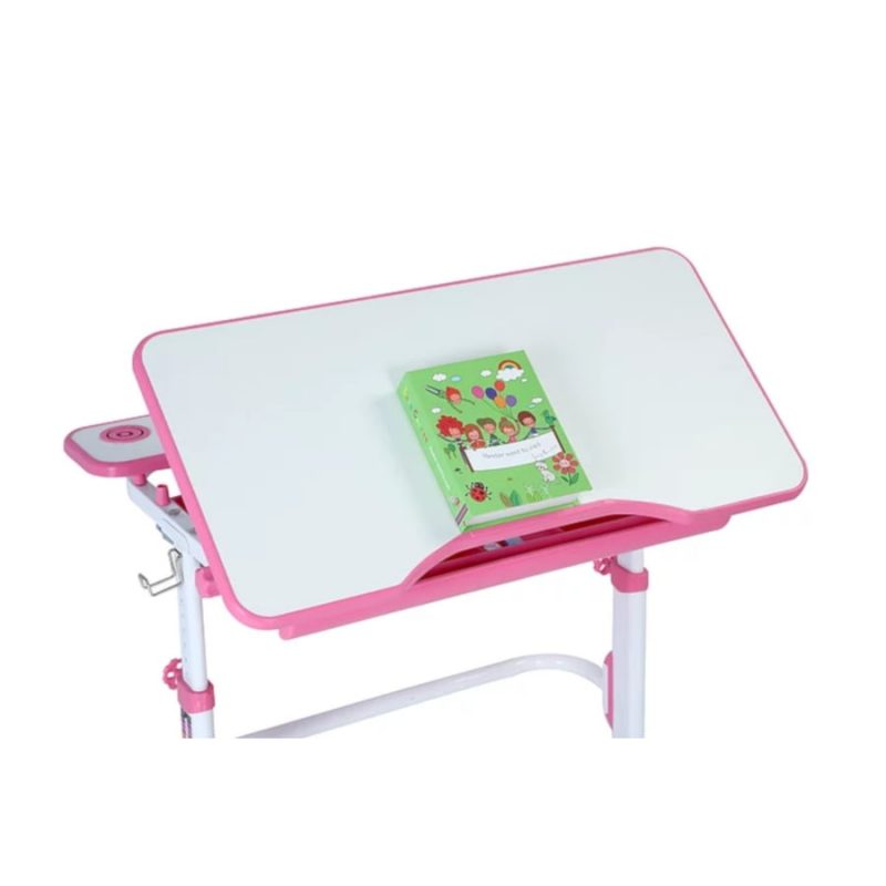 Biurko regulowane dla dziecka Fun Desk Freessia Pink 1