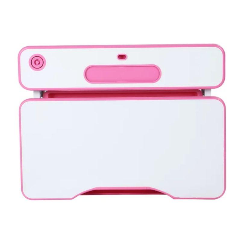 Biurko regulowane dla dziecka Fun Desk Freessia Pink blat z góry