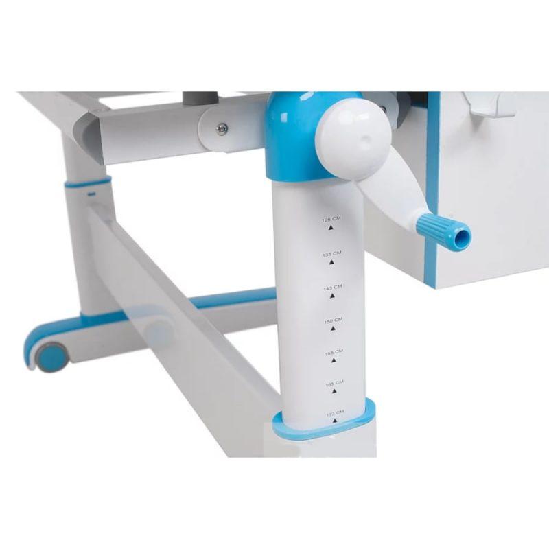 Biurko regulowane dla dziecka Fun Desk Libro Blue regulacja wysokości