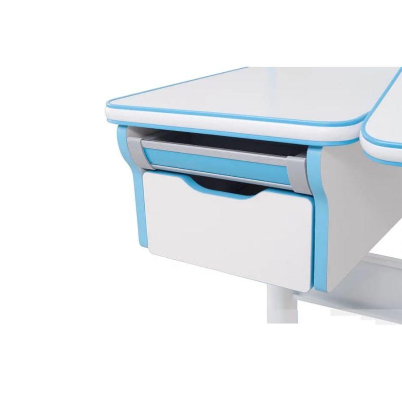 Biurko regulowane dla dziecka Fun Desk Libro Blue szuflada
