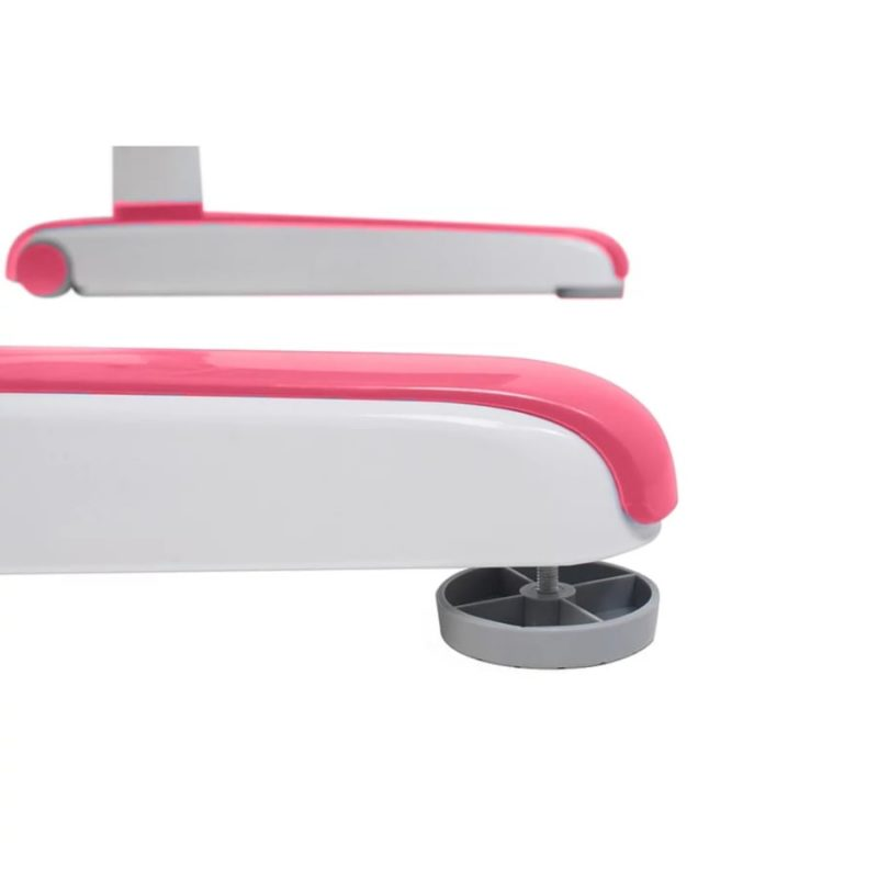 Biurko regulowane dla dziecka Fun Desk Libro Pink podstawa nóżki