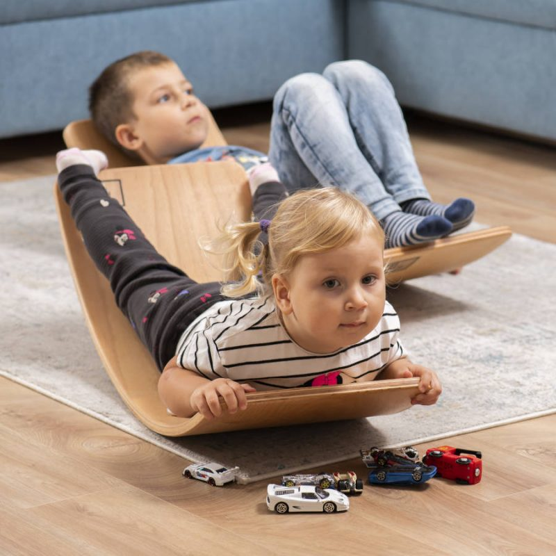 Deska sensoryczna dla dzieci KidiBoard trening równowagi