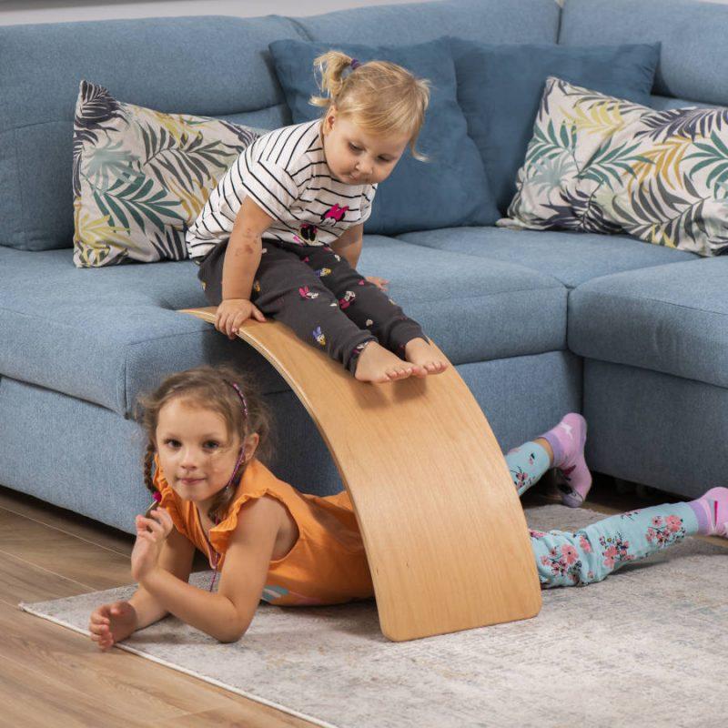 Deska sensoryczna dla dzieci KidiBoard balansująca