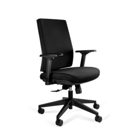 Fotel ergonomiczny Unique Shell Low KB02-1M Czarny