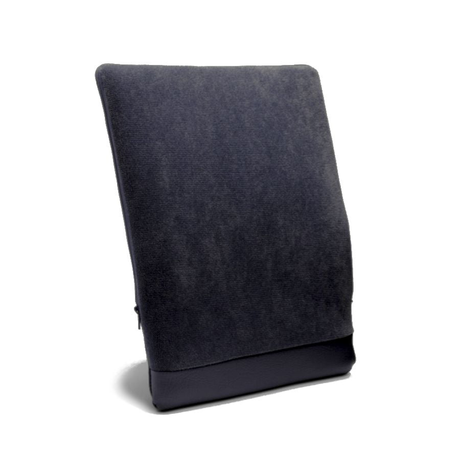 Regulowana poduszka Spina-Bac szwedzka. Lędźwiowy korektor postawy do siedzenia pod plecy czarna
