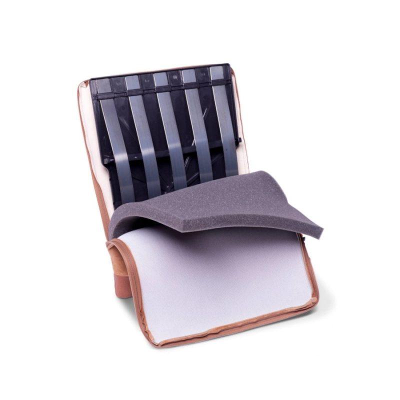 Regulowana poduszka Spina-Bac szwedzka korektor postawy do siedzenia pod plecy wewnątrz
