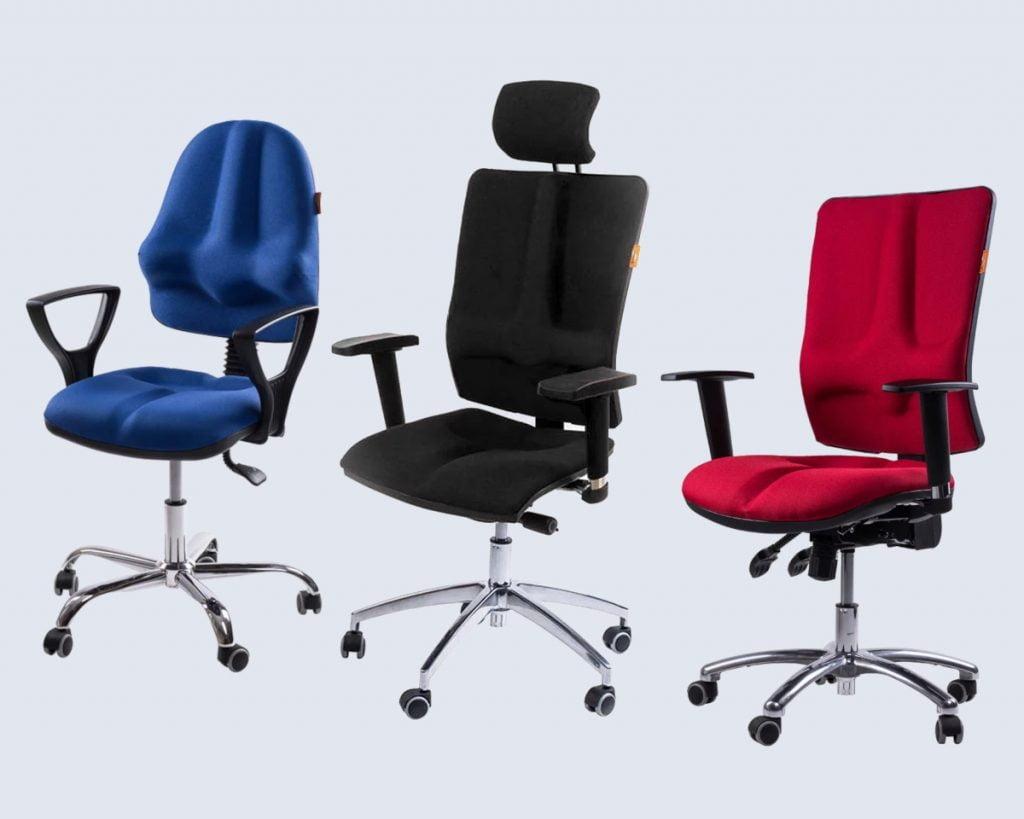 Krzesła Kulik System. Fotele ergonomiczne z patentem medycznym.