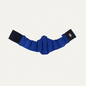 Pas korygujący niski Kulik System krzyżowo-lędźwiowy niebieski
