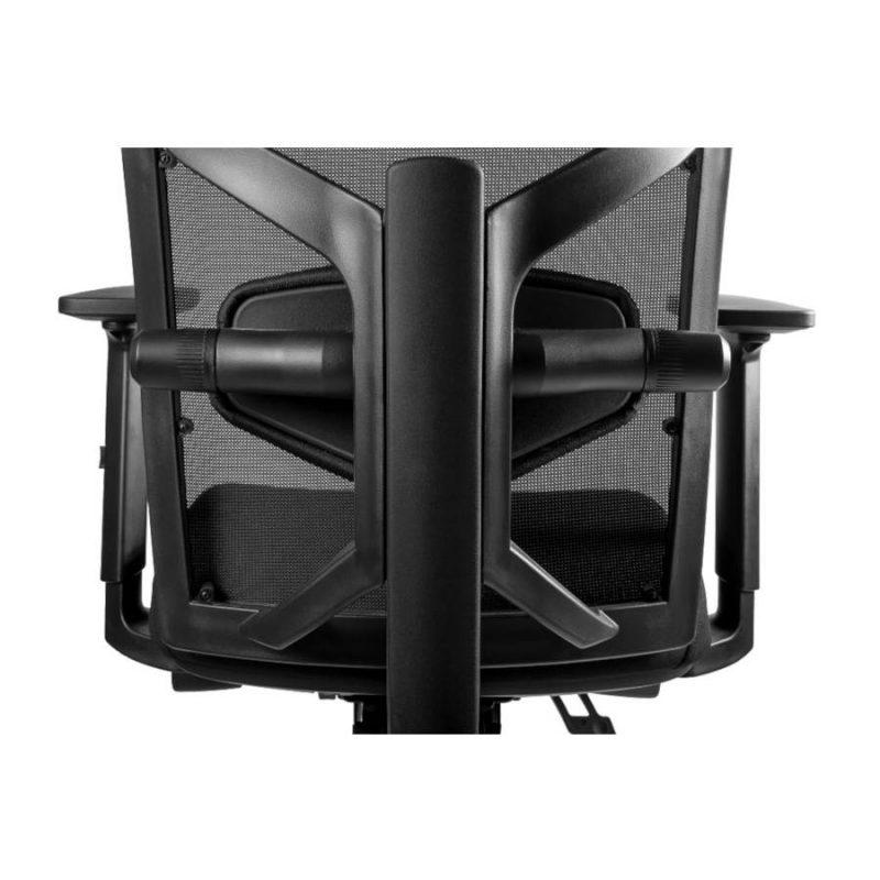 Regulacja lędźwiowa w fotelu y Unique TUNE 139Y Czarny Stelaż Tkanina SM