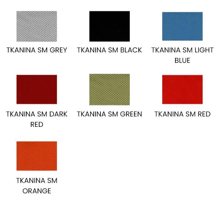 Dostępne kolory / Paleta barw fotela Unique HERO Tkanina ZM-6661