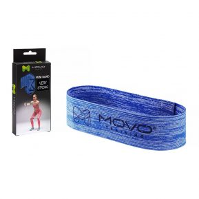 Taśma MOVO Power Band Very Strong Niebieska, EAN: 5907632985390