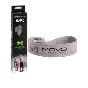 Taśma MOVO Power Band Hard Szara, EAN: 5907632985031