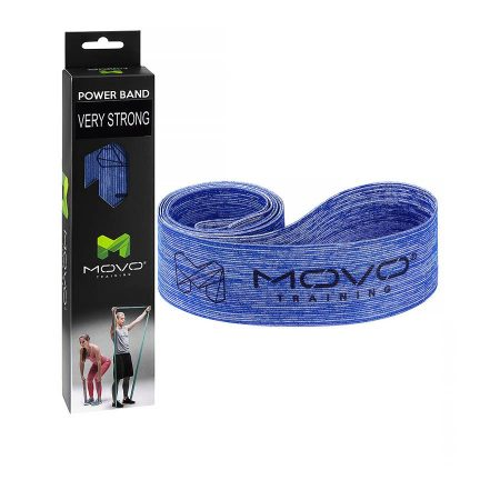Taśma MOVO Power Band Very Strong Niebieska, EAN: 5907632985406