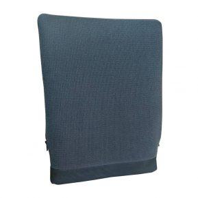 Korektor Spina-Bac szwedzka poduszka korygująca postawę niebieska z przodu.