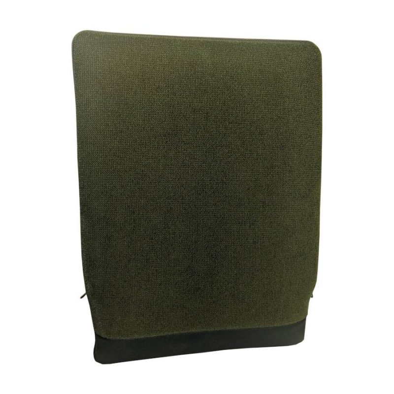 Korektor Spina-Bac szwedzka poduszka korygująca postawę zielona z przodu.