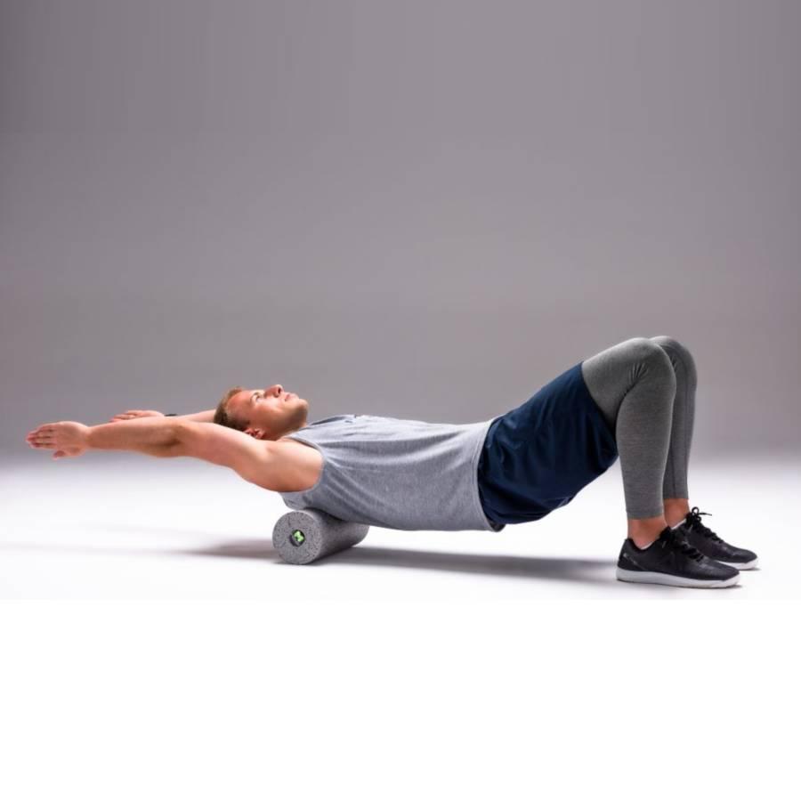 Wałek MOVO ® Roller Optimum Czarny Miękki trening mobility