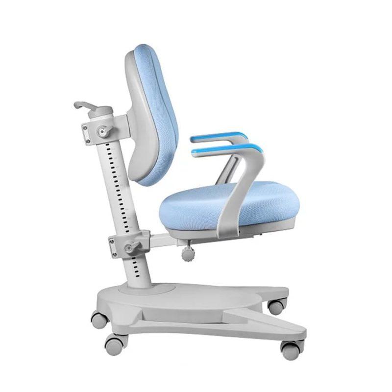 Krzesło ergonomiczne dla dziecka Unique Paddy Niebieskie NCX-09 z boku