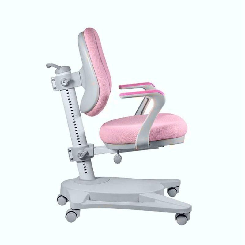 Krzesło ergonomiczne dla dziecka Unique Paddy Różowe NCX-09-12 z boku