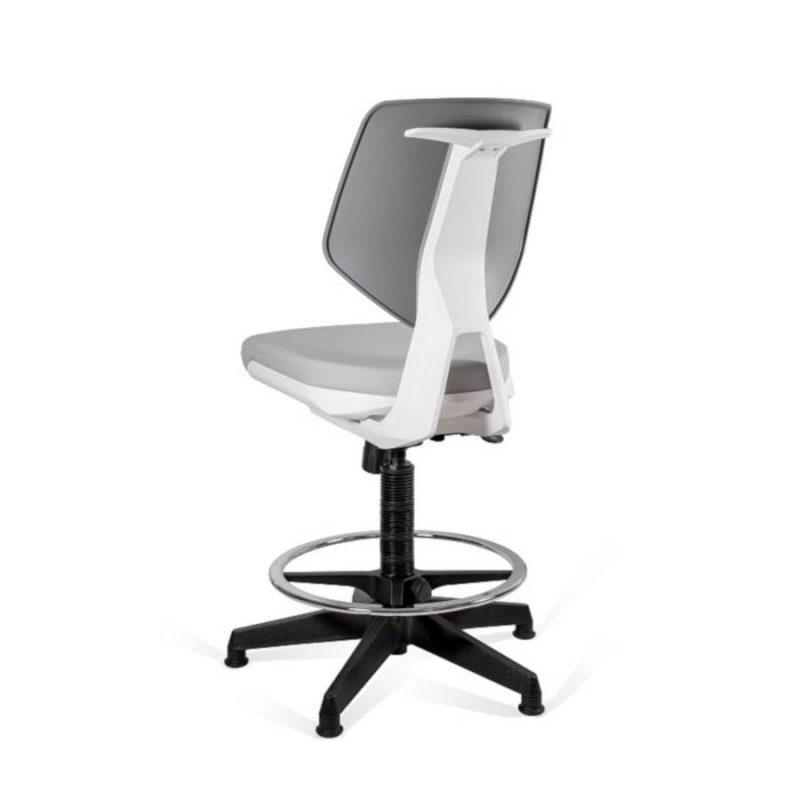 Krzesło medyczne Unique Kaden Grey Greyrey 1167N2D2 z tył
