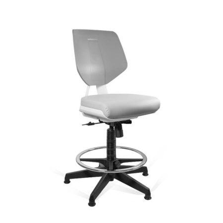 Krzesło medyczne Unique Kaden Grey Greyrey 1167N2D2 z przodu