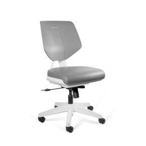 Krzesło medyczne Unique Kaden Low Grey Grey 1167N3 z przodu